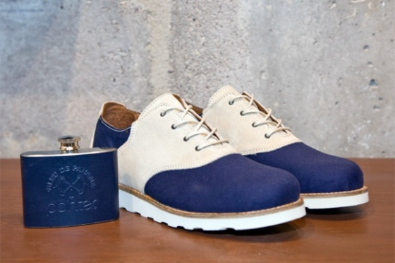 "Blue de panama & Pointer 'Charlie"" Saddle Shoe"