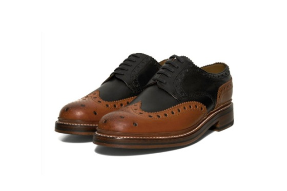 Grenson  - Two Tone Archie Brogue