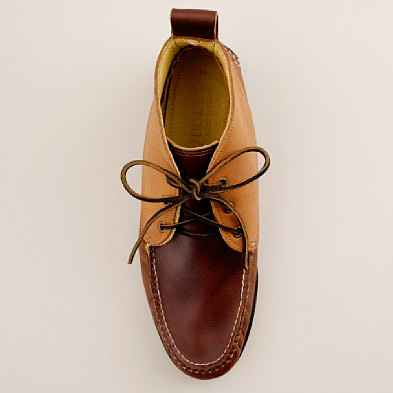 Quoddy for J.Crew Tri-Color Chukka Boots