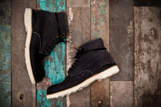 Visvim Virgil boot Kudu in Folk Black