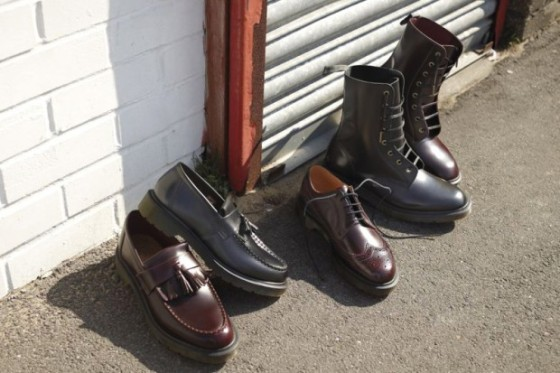 "Dr. Martens 2011 Fall/Winter ""Sharp Classics"" Collection"