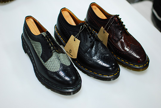 "Dr. Martens ""Made in England"" Fish Scale Shoes for Spring 2012"