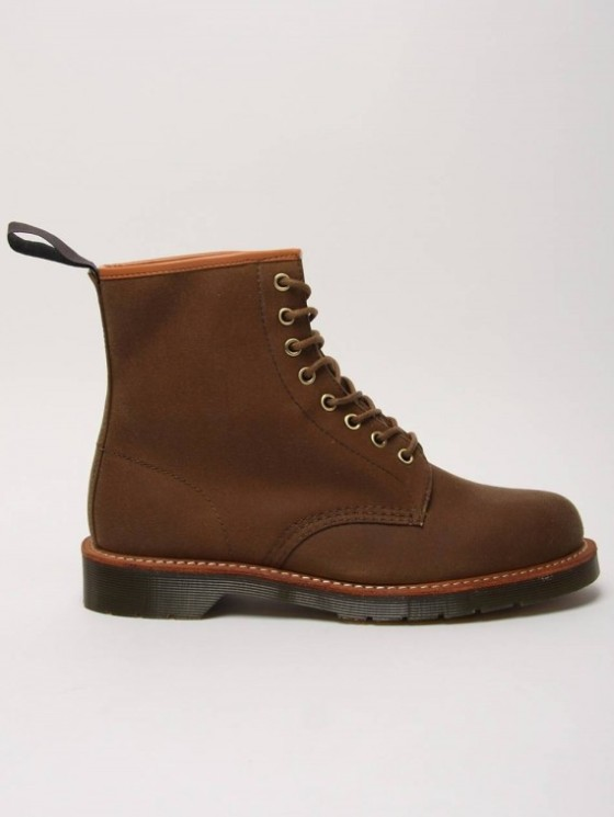 Dr. Martens x British Millerain – 8-Eye Boots