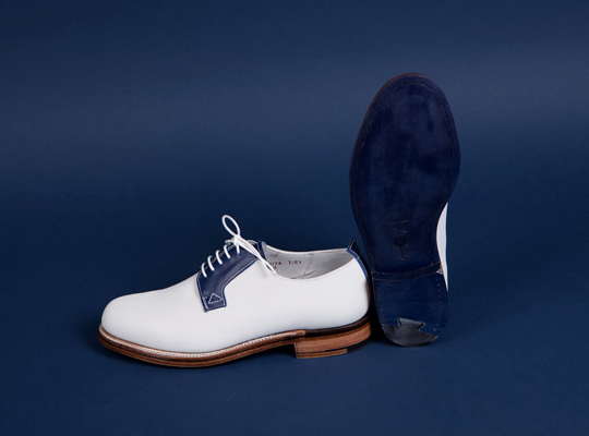 Grenson for Tenue de Nîmes Whole Cut Gibson Shoes
