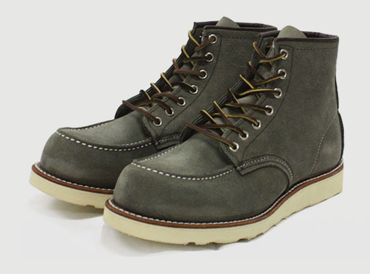 Red Wing for Nigel Cabourn 'Sage Mohave' 6 Inch Classic Work Boot