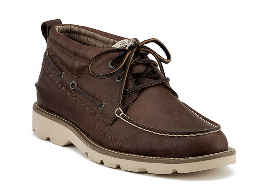 Sperry Top-Sider Cloud Logo Shipyard Longshoreman Chukka