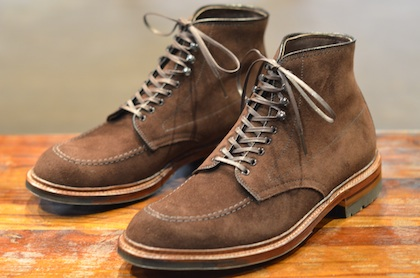Alden x Leather Soul The Choco Suede Ultimate Indy Boot