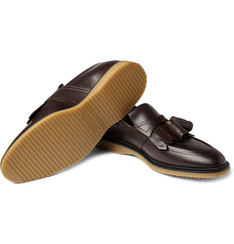 Burberry Prorsum Tasseled Fringed Loafers