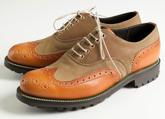 Grenson for Barbour Marske Brogue