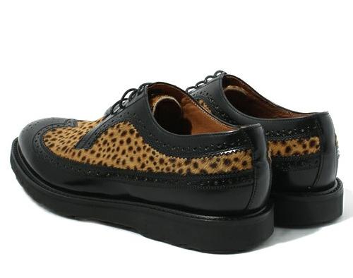 Paul Smith Leopard Wingtip Brogues