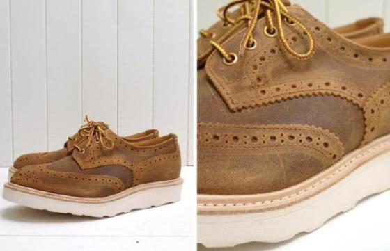 The Bureau's New Tricker's Brogue Waxes Off The Competition
