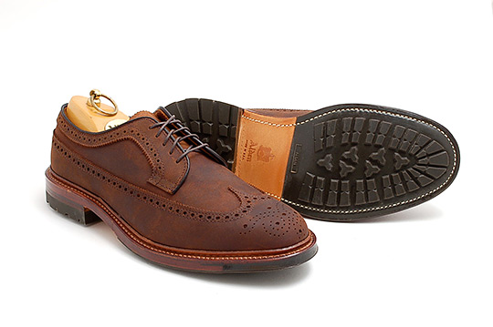 Mens Cordovan Dress Shoes Wih Vibram Soles