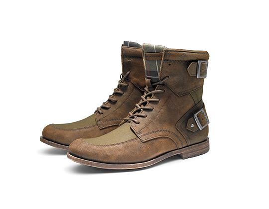Barbour x Rockport Holiday 2011 Footwear