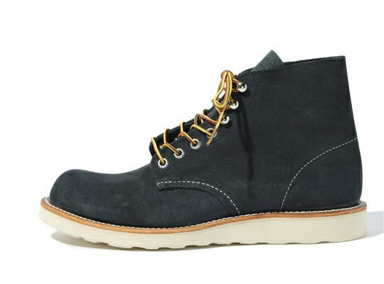 Beams x Red Wing Round Toe Boots