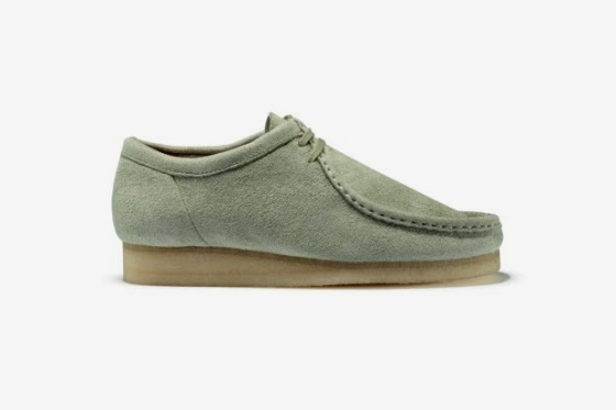 Supple Suede Clarks Wallabees For Oi Polloi