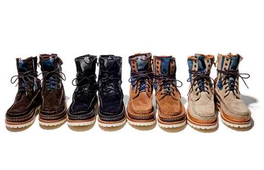 visvim 10th Anniversary Grizzly Boots Mid-Folk