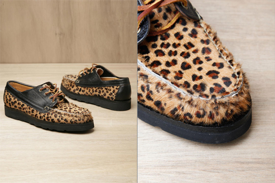 Yuketen Leopard Print Country Ranger Shoes
