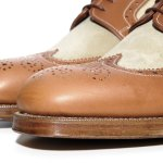 Grenson for Heritage Research Long Wing Brogue Shoes-2