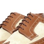 Grenson for Heritage Research Long Wing Brogue Shoes-3