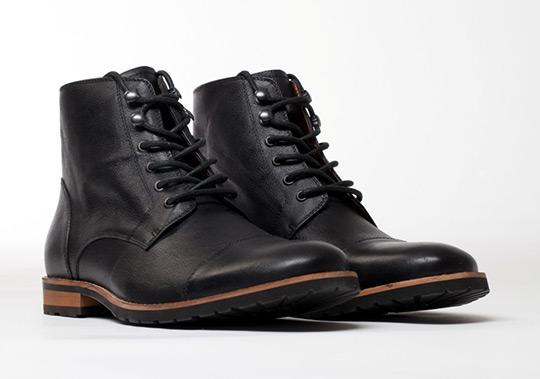 Amsterdam Shoe Company Regency Cap Toe Boot