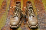 Alden, Self Edge for Leather Soul, Horween Natural Boots-2