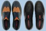 Prada Wingtip Derby Sneakers