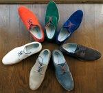 Seize sur Vingt Perforated Buck Shoes-5