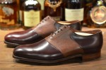 George Cleverly Saddle Shoe-1